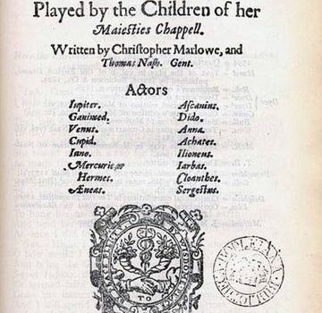 Dido title page