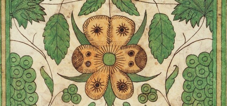 Trevelyon MS, Flowers