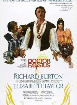 Movie Poster, Dr. Faustus, Richard Burton and Liz Taylor