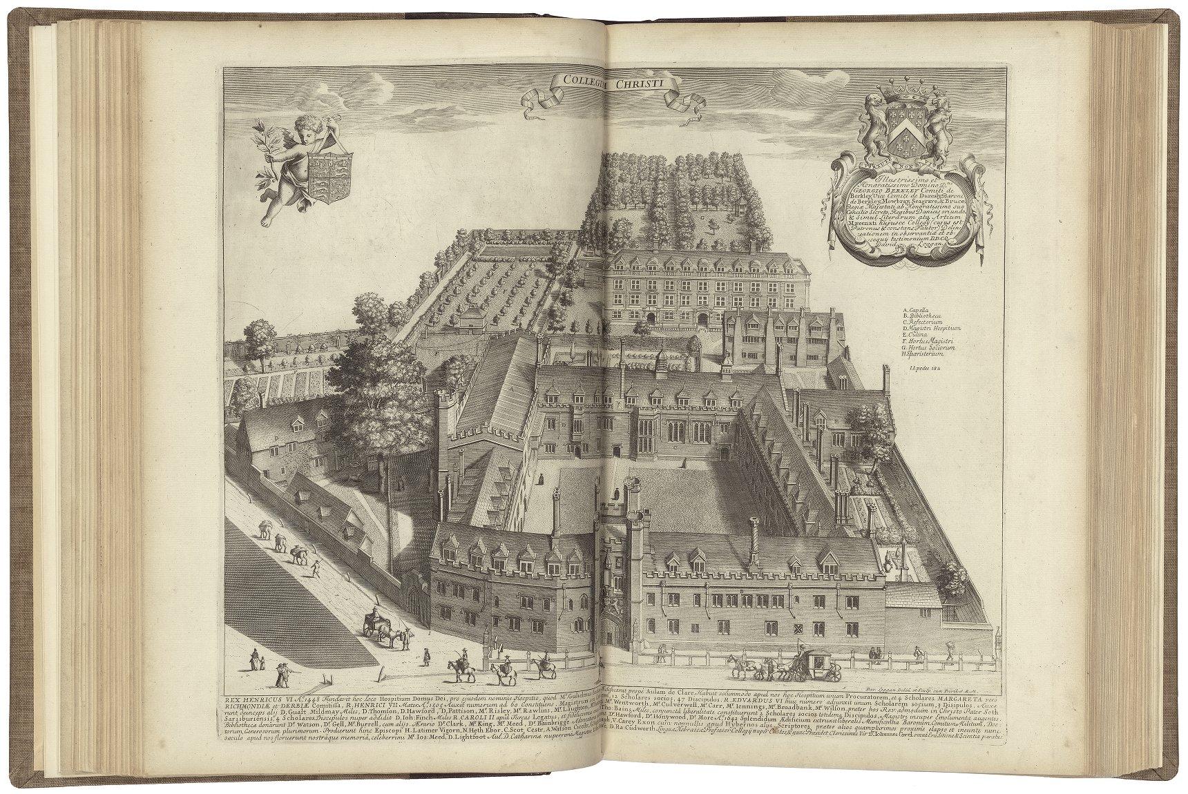 Illustration of the Corpus Christi College